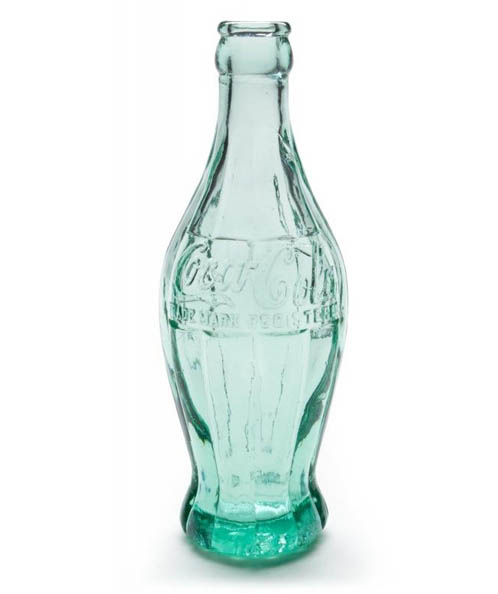 The original coke bottle was influenced by the shape of the cocoa bean pod
